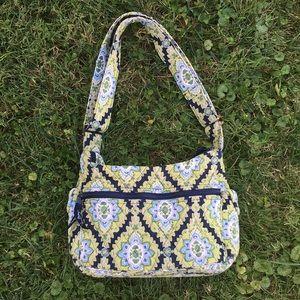 Vera Bradley Retired Green Pattern Shoulder Bag